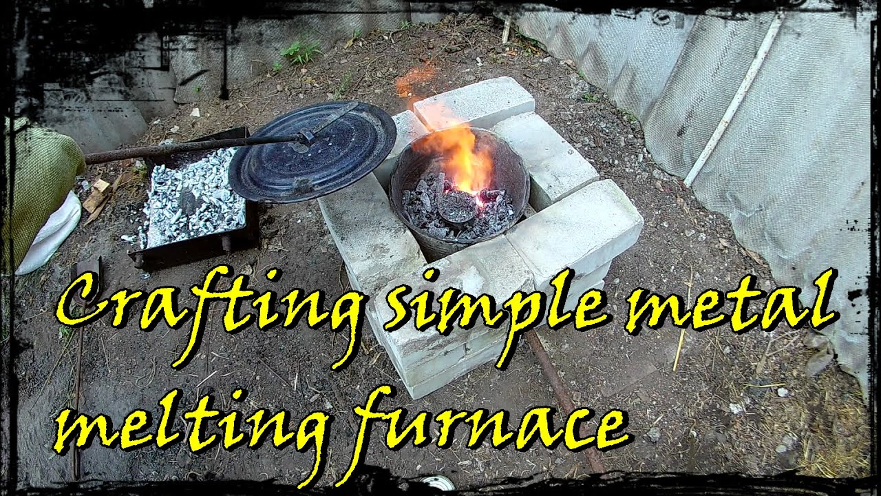 metal melting furnace from a scrap building guide youtube