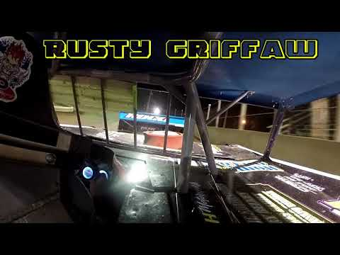 In Car Cam of Rusty Griffaw At Belle-Clair Speedway 7-20-18