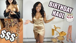 HUGE 21ST BIRTHDAY HAUL | SPENT $$$ ON FASHION NOVA PRETTY LITTLE THING MISSGUIDED & ALIEXPRESS 2018