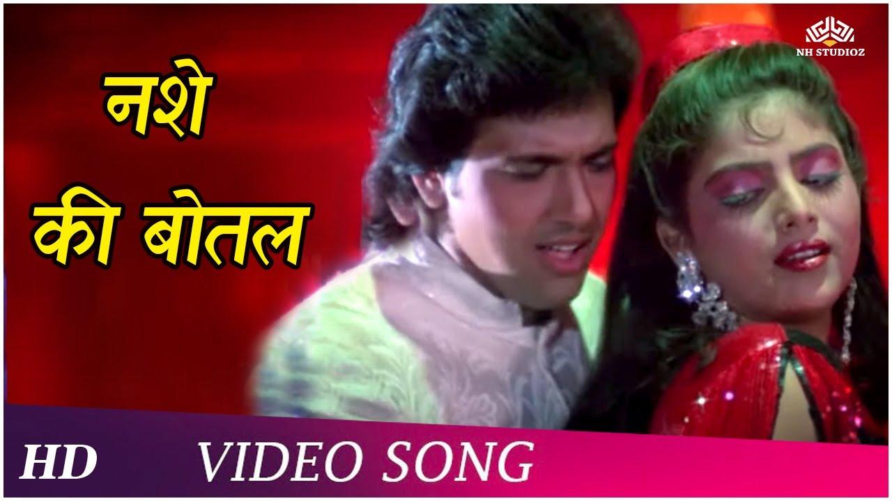Nashe Ki Bottle   Raeszaada  (1991)   Govinda   Sonam   Romantic Song