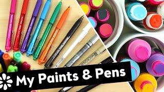 My Paints & Pens | Sea Lemon