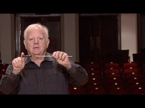 Lesson One: The Baton, Leonard Slatkin's Conducting School