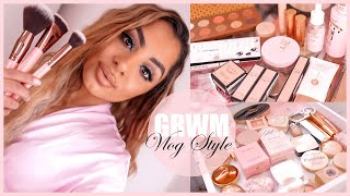 Chit Chat GRWM + Gucci Makeup, Outfit, & New Vanity