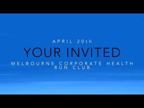 Melbourne Corporate Health Run Club! Melbourne's best!