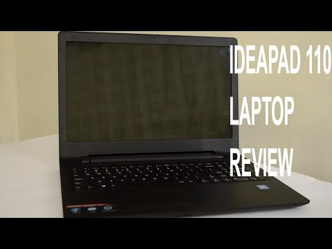 Lenovo Ideapad 110 laptop - Complete review