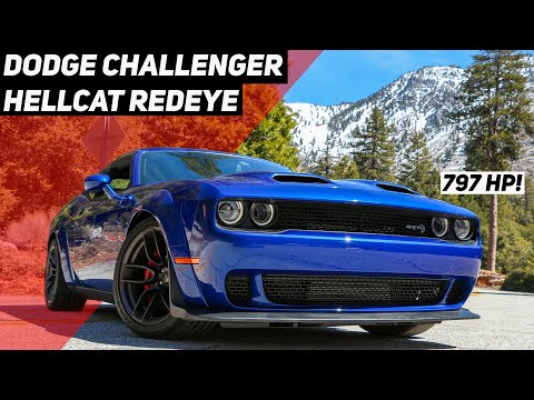 2019 Dodge Challenger Hellcat Redeye Widebody Review: Maximum Muscle Car