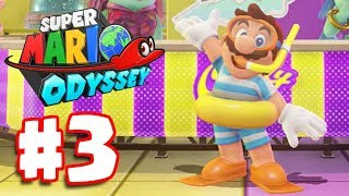 Super Mario Odyssey Part 3 | Lake Kingdom Gameplay Walkthrough (Super Mario Odyssey Nintendo Switch)