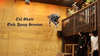 LOWCARD: Cal Skate Pink Ramp Session