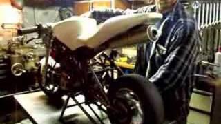 Zelfbouw Minibike Puch 2