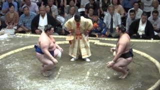 20130915 大相撲秋場所 初日 琴欧洲 vs 碧山.