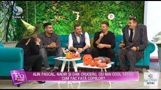 Teo Show (31.10.) - Alin Pascal, Nadir si Dan Cruceru, cei mai cool tatici! Cum fac fata c ...