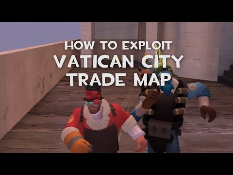"TF2 - Vatican City Unusual Trade Server ""Sniper Wall"" - Invincibility Exploit"