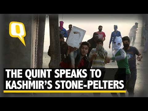 The Quint: The Quint Exclusive: Into the Minds of Kashmir's Stone-Pelters
