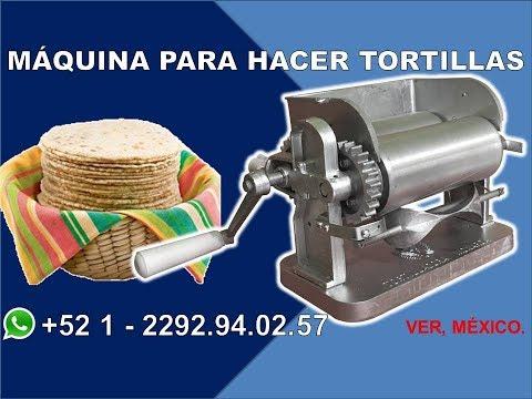 Maquina para hacer tortillas - Tortillera - GRUPO HALLEY