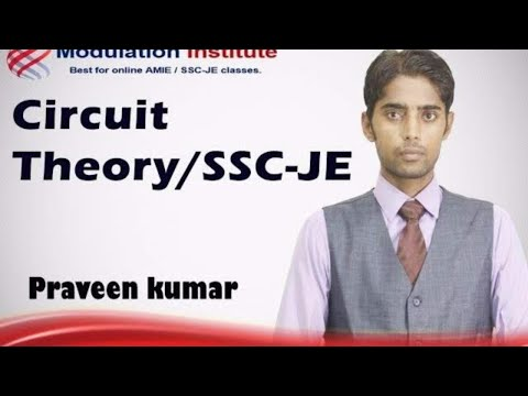 SSC JE Lecture for electrical engineering. By Praveen sir: Modulation institute