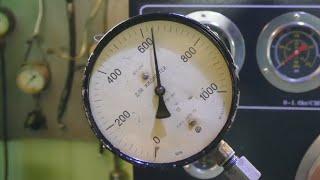 Проверка неисправного и исправного клапана ТНВД Bosch VP30 на двигателе и на стенде