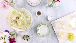 Dainty Cucumber Sandwiches | Southern Living