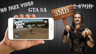 [HINDI] GTA SAN ANDREAS 3 MB SIZE DOWNLOAD [ FULL GAME] [ HIGHLY COMPRESSED ]