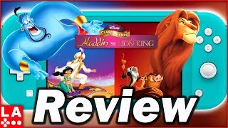 Disney Classic Games: Aladdin and The Lion King Review (Video Game Video Review)