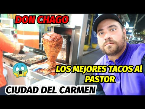 PRUEBO LOS MEJORES TACOS AL PASTOR DE CD DEL CARMEN CAMPECHE 🇲🇽