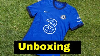 Unboxing Chelsea home kit 2020/21 (lusoccer)