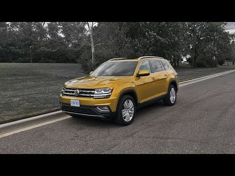 2018 Volkswagen Atlas Execline VR6 4Motion - Review