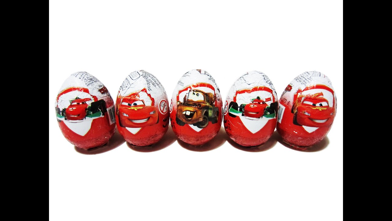 Surprise Eggs Kinder Surprise Cars