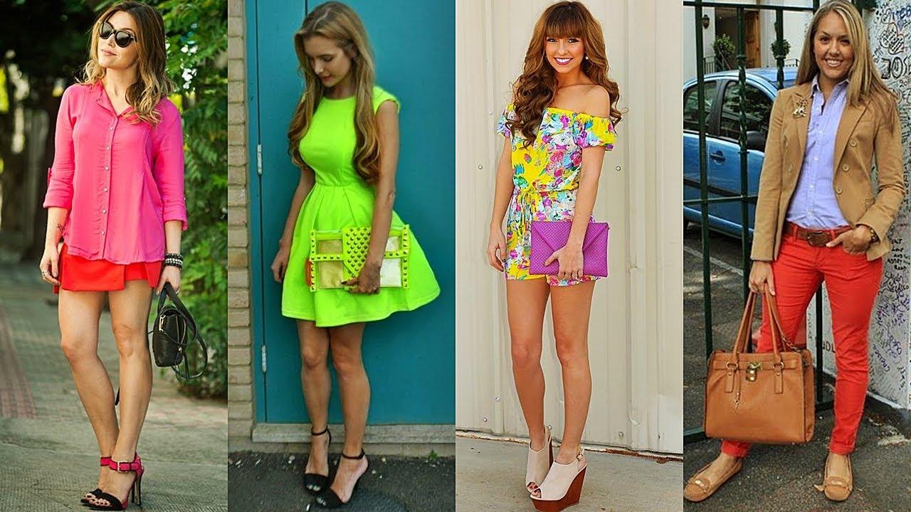 Como ir vestida a una fiesta neon