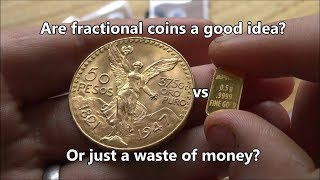 Fractional Gold, Silver and Platinum - Good idea or Bad idea?