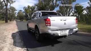 2016 Mitsubishi Triton Exceed (auto) 0-100km/h & engine sound