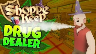 Shoppe Keep Gameplay - BECOMING A DRUG LORD! (Let