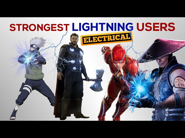 Strongest LIGHTNING USERS in the Universe