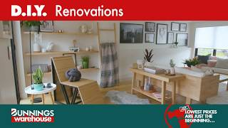 How to Renovate a Living Room - D.I.Y. At Bunnings