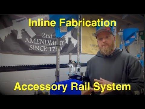 Inline Fabrication Rail System Bench Upgrades