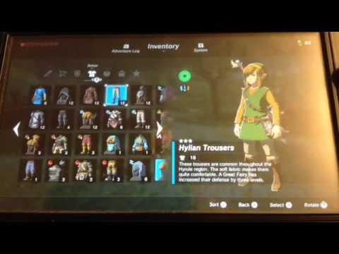 Legend of Zelda Breath of the wild ep1-Guardian farming tutorial