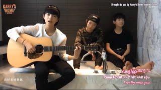 [Vietsub + Engsub + Kara] I miss you (Hao xiang ni - 好想你) _ TFBOYS (Guitar Ver.)