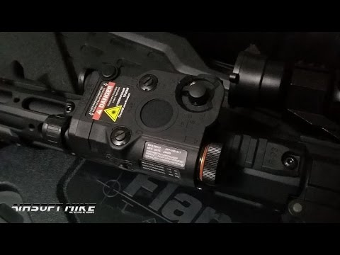 FMA AN-PEQ 15 Red Dot Laser with LED and IR Lens / Upgrade Version