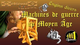 Machines de guerre médiévales : Engins divers