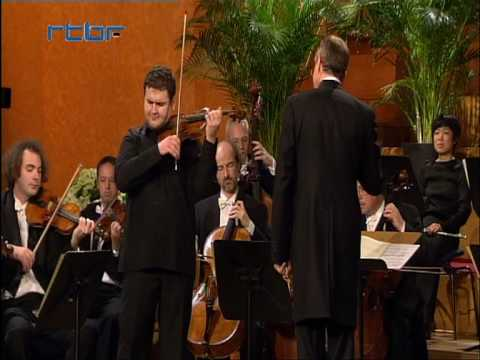 Ilian Garnet Plays Mozart violin concerto No. 3 (part 3)