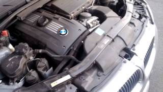 07 E92 335i water pump failure fan full blast