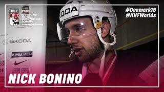 Interview Nick Bonino (USA) | #IIHFWorlds 2018