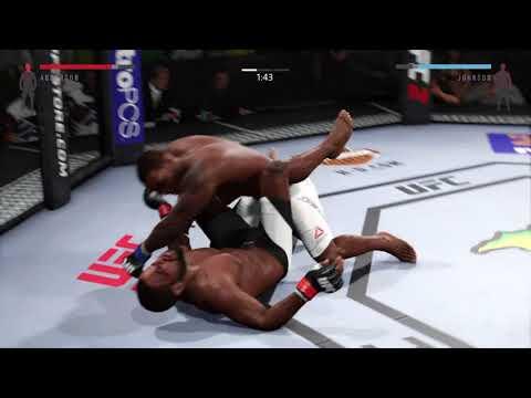 EA SPORTS™ UFC® 2 Anthony Johnson vs. Corey Anderson