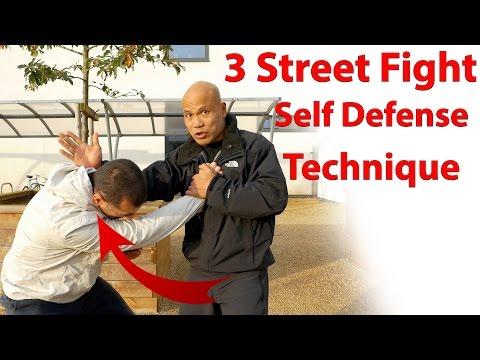 3 Street Fight Self Defense Technique
