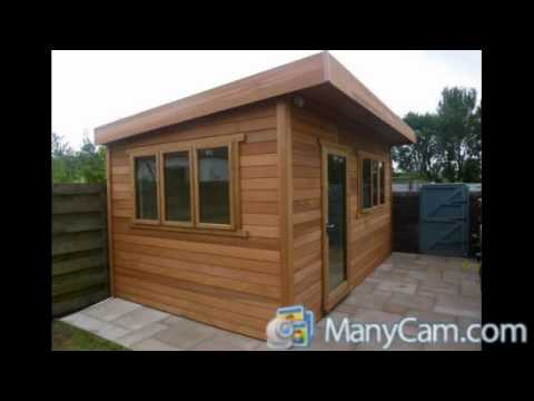 premiere contemporary uk designer posh quality shed sheds summer
