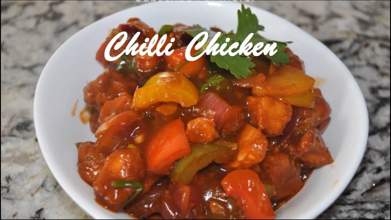 Chilli Chicken Indian Style Youtube