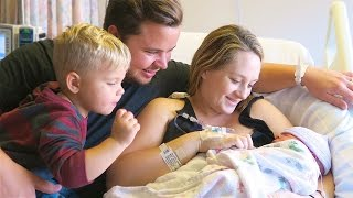 WELCOME FINLEY JAY! (birth vlog)