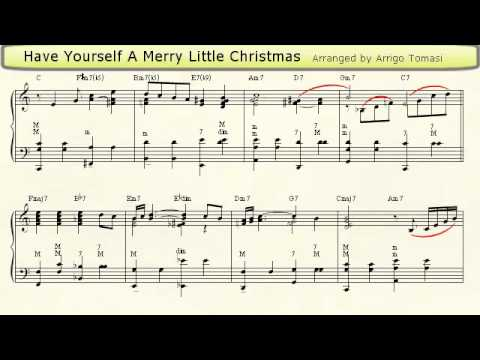 Have Yourself A Merry Little Christmas Lead Sheet.Have Yourself A Merry Little Christmas Accordion Sheet Music