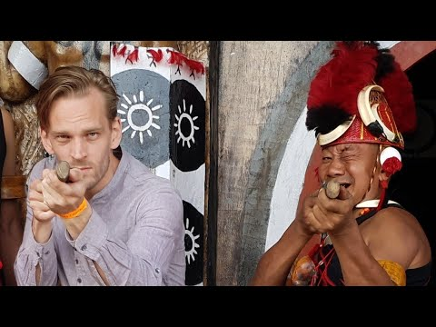 Meet the TRIBAL People of India... NOT the Sentinelese ☠ (Hornbill Festival)