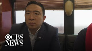 Andrew Yang weighs in on diversity among Democratic candidates