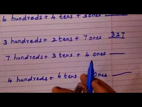 3rd Grade maths - write in short form - YouTube